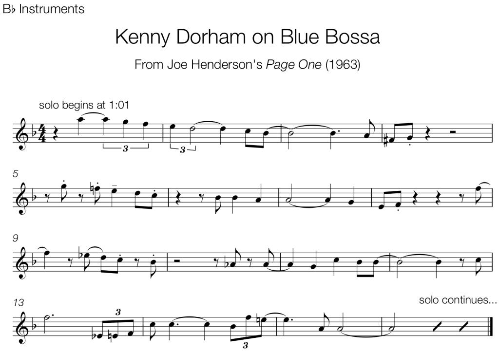Trumpet – The Jazz Language